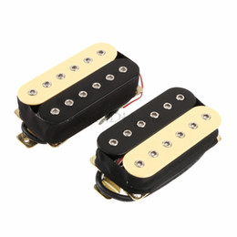 Chinese  Zebra Guitar Humbucker Pickup Set Bridge and Neck Ceramic Magnet manufacturers