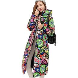 Design Women Hooded Coat Canada - Wholesale- 2017 Autumn Winter Coat Women Design Padded Down Cotton Coat Plus Size Slim Jacket Hooded Zipper Long Parkas Jacket Women C2381