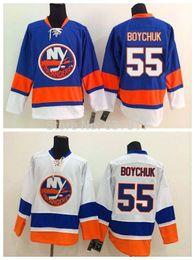 Hockey Team Shirts Canada - Men's New York Islanders Hockey Jerseys 55 Johnny Boychuk Jersey Team Color Royal Blue White Johnny Boychuk Shirts Stitched Logo