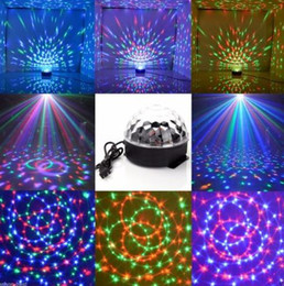 $enCountryForm.capitalKeyWord Canada - Party Stage Effect Light Lamp Bulb Club DJ Disco KTV Party bars Sound Active RGB Crystal Mini LED Ball Projector lighting drop shipping