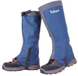 Yürüyüş Çorapları Kar Çayırları Su Geçirmez Boot Gaiter Su Geçirmez Rüzgar Geçirmez Çit Takviyeli TPU Kayışı Nefes 500D Naylon OUT232