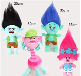 Dreams plush online shopping - 8 Style cm The Newest Movie Trolls Plush Toy Poppy Branch Dream Works Stuffed Cartoon Dolls The Good Luck Trolls Christmas Gifts