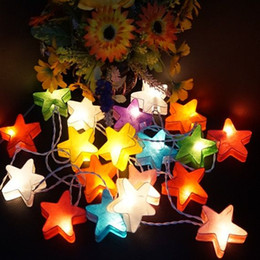$enCountryForm.capitalKeyWord NZ - 3M 20led star love shape Paper Lantern String lights Night lamp fairy light Wedding decoration christmas lights outdoor lighting