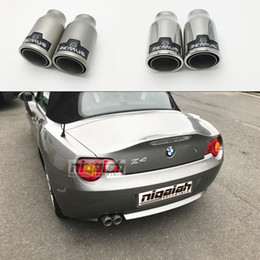 $enCountryForm.capitalKeyWord NZ - 1 Piece Universal 51mm Inlet 76mm Outlet 304 Stainless Steel Remus Car Exhaust Muffler Tip Modified Exhaust Pipes