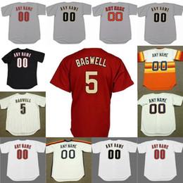 huge discount 01f5a 549d3 Discount blank baseball team jerseys Men s Houston Justin Verlander 5 JEFF  BAGWELL 7 CRAIG BIGGIO 11