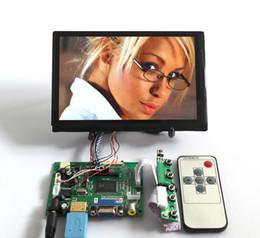"""$enCountryForm.capitalKeyWord Canada - HDMI VGA 2AV 50PIN TTL DS Controller Board Module with Remote Control IR LED+7""""inch 1280*800 N070ICG-LD1 HD LCD Display free shipping"""