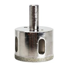 Glass Hole Saw Bit UK - V1NF New Tile Glass Metal Hole Saw Diamond Core Drill Bit 40mm Cutting Diameter