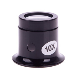 Wholesale-1 Pcs 10x Watch Magnifier Jeweler Loupe Magnifing Glass Eye Len Repair Kit Tool#49945 на Распродаже