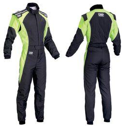 Novo arrivel terno de corrida de carro macacão calças casaco conjunto laranja verde azul tamanho XS..4XL homens e mulheres não usam à prova de fogo em Promoção