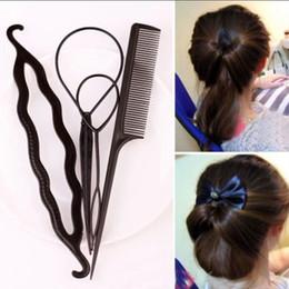 Saç Büküm Şekillendirici Klip Çubuk Bun Maker Örgü Aracı Saç Aksesuarları Yeni Moda 1 takım = 4 adet Ücretsiz kargo