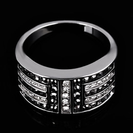 $enCountryForm.capitalKeyWord NZ - Wholesale- 2017 Latest rock punk crystal antique rings for men women vintage biker ring male big cool jewelry