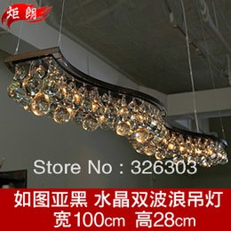 Wholesale The New Wave Of Italian Designers Nordic Upscale Living Room Dining Chandelier Crystal Lamp Lamps Promotion