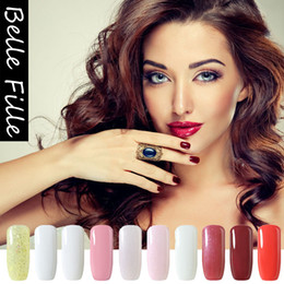 Barato Venda De Lâmpada De Prego Led-Venda Por Atacado - 10ml Solid Colors UV Nail Gel Polish Hot Sale Diy Gel Lacado Nail Art Semi Permanente Soak Off Led UV Lâmpada Gel de unha 237 Cores