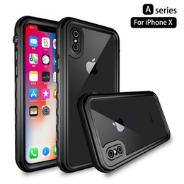 Wholesale redpepper cases resale online - New Arrival Redpepper Waterproof Case For Iphone X Waterproof Cover For Iphone X Shockproof Protection Case