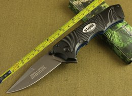 Discount benchmade knives - FREE SHIPPING 8.5'' EXTREMA RATIO Aluminum handle Fast Opening LINE LOCK Folding Pocket Knife F40