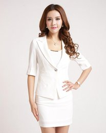 $enCountryForm.capitalKeyWord Canada - Women Professional Worker Wear Ladies Blazer Skirt Sets Female Business Formal Office Suits Uniform Designs Jacket Skirt