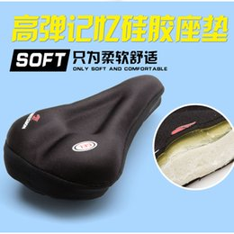 $enCountryForm.capitalKeyWord Canada - Outdoor Silicone Cycling Bike Bicycle Soft Thick Gel Saddle Seat Cover Cushion Pad Bicycle Parts Sports & Outdoors