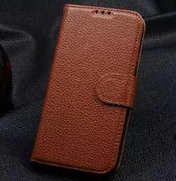 genuine leather cover for s4 NZ - Purse Design For Samsung S4 Case Original Flip Purse Wallet Stand Cover Luxury Genuine Leather Case For Samsung Galaxy S4 I9500