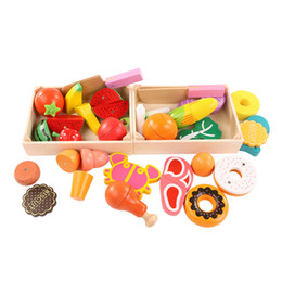 $enCountryForm.capitalKeyWord Australia - Wooden Kitchen Toys Cutting Fruit Vegetable Play miniature Food Kids Wooden baby early education food toys