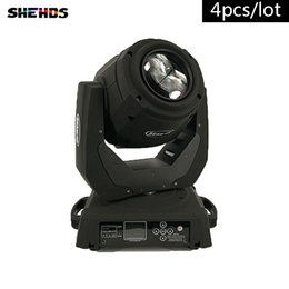 Wholesale 4pcs Fast ShippingLED Beam W R Lighting for Mobile DJ Party nightclub channels stage lighting SHEHDS