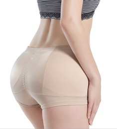 PADDED REAR BUTT HIPS ENHANCER PANTY Shapewear Underwear Knickers Black and Beige 5 Размеры