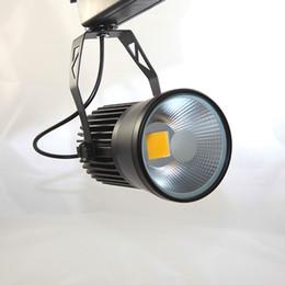 Strip Spotlights Canada - LED Track Light 30W COB Rail Light Spotlight strip Equal to 300W Halogen Lamp 110V 220V 230V 240V Track Lamp Rail Lamp Bulb