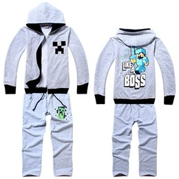 $enCountryForm.capitalKeyWord Canada - 2015 New Baby Boy Clothing Sets Kids Cotton Clothes Set Sport Suits Boy Hoodies Coat +Pant Kids Casual Set Children Clothing Set