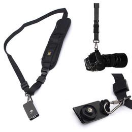 Camera Shoulder Strap Canada - Quick Strap Rapid Straps Shoulder Sling Belt Neck Strap for Camera SLR DSLR for Canon Nikon Sony