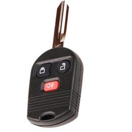 $enCountryForm.capitalKeyWord Canada - New 3 Button Keyless No Chip Car Key Fob Case Shell for Ford Mercury Mazda F-150 F-250 Super Duty F-350 Super Duty Escape Mariner Key FOB