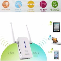 $enCountryForm.capitalKeyWord Canada - 750Mbps AC750 Dual Band Wireless Wifi Router Repeater Extender Booster 802.11AC 2.4G 5G Networking WPS AP WI-fi Antenna