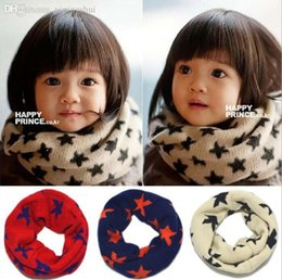 $enCountryForm.capitalKeyWord Canada - Wholesale-2015 New Children's winter knitted scarf Korean five-pointed star boy girls collar age for 2-7 years old