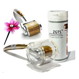 zgts titanium derma micro needle Canada - top quality medical use anti acne zgts derma roller titanium micro needle