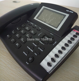 Großhandels-Vorgerücktes Anrufer Identifikation-Telefon / Telefon DB835 PABX / PBX Bürotelefon-Qualität