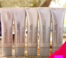 Natural Oil Free Face Moisturizer Canada - Makeup Laura Mercier Foundation Primer Hydrating  mineral  oil free Base 50ml 4styles High Quality Face Makeup natural long-lasting DHL