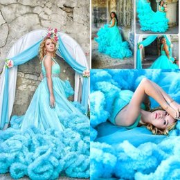 Turquoise v neck wedding dresses suppliers best turquoise v neck princess turquoise blue wedding dresses 2018 maternity pregnant cascading ruffles crystals bridal gowns custom made court train bridal dress junglespirit Image collections
