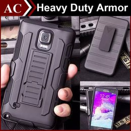 Wholesale Heavy Duty Armor Stand Case in Hybrid Robot Belt Clip Holster Cover For iPhone S Plus Galaxy S4 S5 S6 Edge Plus Note LG HTC