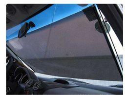 $enCountryForm.capitalKeyWord Canada - Car Window Roller Blind Scalable Mesh Sun Shade Car Sunshade Gauze Insulated Curtain Retractable Shutter