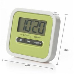 Wholesale Newly Kitchen Timer Digital Kitchen Helper Mini Digital LCD Kitchen Count Down Clip Timer Alarm Colorful Meow