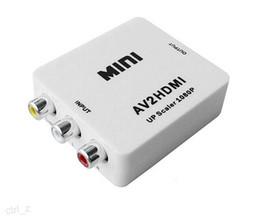 Rca tv vcR online shopping - RCA to HDMI AV to HDMI P AV2HDMI Mini AV to HDMI Converte Signal Converter for TV VHS VCR DVD Records Chipsets Shown