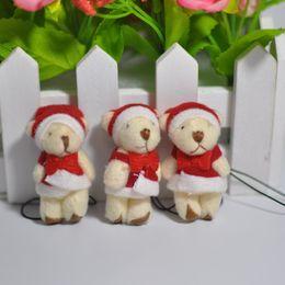 $enCountryForm.capitalKeyWord Canada - Bulk 4.5cm stuffed animals Small Christmas Teddy Bear With Bow and Strap Stuffed Bear Dolls For Soft Toys Xmas gift Mini Urso De Pelucia Oso