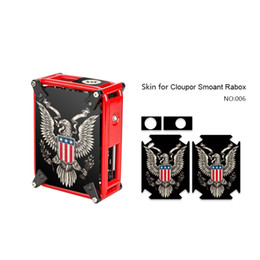 Mod stickers online shopping - Smoant Rabox Skin Printing Wraps Sticker Cases Cover for Cloupor Smoant RABOX W TC Mechanical Box Mod Protective Film Stickers Pattern