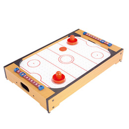 HUANGGUAN TOYS HG298D Mini Air Hockey Table Intelligence Activities  Learning Ability Toy Educational Game Toys Gift For Kids
