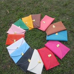 $enCountryForm.capitalKeyWord Canada - Wholesale Blanks PU leather Women Shoulder Crossbody Clutch PU Wallet Purse Envelope Clutch Leather Handbag DOM103119