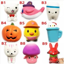 Teeth Music NZ - Newest high quality DHL Squishy Toy Soft Squeeze Cute miniature food tooth squishies Funny Strap gift Stress children toys