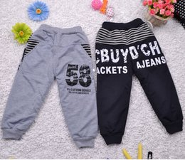 warm leisure pants NZ - Children warm pants Winter 100% cotton Boys girls pants baby kids Leisure trousers Plus velvet Thicken Free shipping