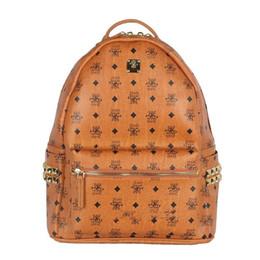 2018 marque chaude nouvelle arrivée Fashion WomenMC été nouvelle arrivée mode punk rivet sac à dos sac d'école unisexe sac à dos étudiant sac en Solde