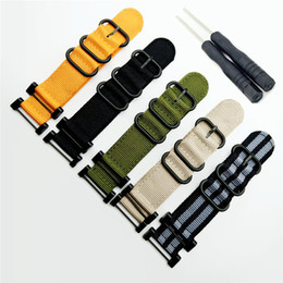 New Dryers Canada - 5 Color Quick Drying For Suunto Core Series Traverse Watch Band Strap Nylon Zulu Watchband 24MM +1 set Adapters +Tools