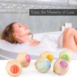 Опт Уход за телом органические бомбы ванны пузырь соли для ванн мяч эфирное масло ручной работы СПА тела расслабиться ванна лаванды аромат