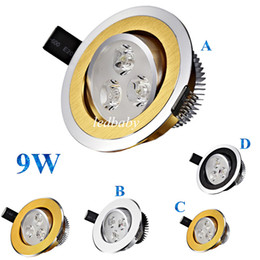 Led recessed ceiLing cabinet Light online shopping - DHL Dimmable Led Downlights Recessed Lights W Led Ceiling Lights Cabinet Lamp AC V CE ROHS UL