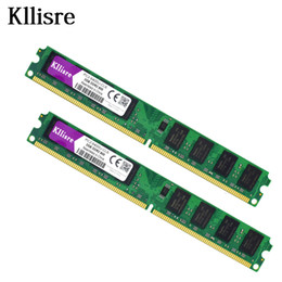 ddr2 ram pc2 NZ - Kllisre 4GB(2pcsX2GB) DDR2 2GB Ram 800Mhz PC2-6400U 240Pin 1.8V CL6 Desktop Memory